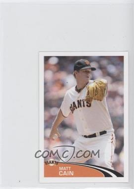 2012 Topps Album Stickers #292 - Matt Cain