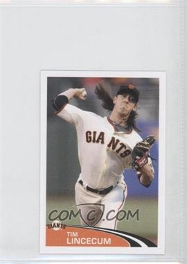 2012 Topps Album Stickers #296 - Tim Lincecum