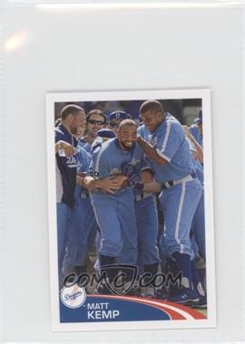 2012 Topps Album Stickers #303 - Matt Kemp