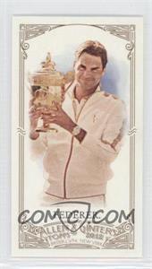 2012 Topps Allen & Ginter's - [Base] - Minis Allen & Ginter Back #157 - Roger Federer