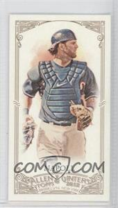 2012 Topps Allen & Ginter's - [Base] - Minis Allen & Ginter Back #330 - Mike Napoli