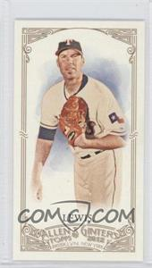 2012 Topps Allen & Ginter's - [Base] - Minis Allen & Ginter Back #341 - Colby Lewis