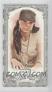 2012 Topps Allen & Ginter's - [Base] - Minis Black Border #87 - Annie Duke
