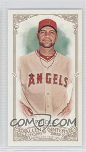 2012 Topps Allen & Ginter's - [Base] - Minis Red Allen & Ginter Baseball Back #1 - Albert Pujols /25