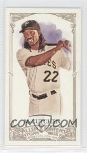 2012 Topps Allen & Ginter's - [Base] - Minis Red Allen & Ginter Baseball Back #128 - Andrew McCutchen /25