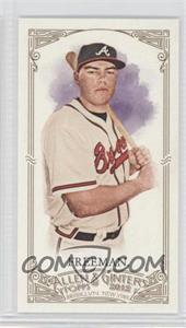 2012 Topps Allen & Ginter's - [Base] - Minis Red Allen & Ginter Baseball Back #161 - Freddie Freeman /25