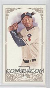 2012 Topps Allen & Ginter's - [Base] - Minis Red Allen & Ginter Baseball Back #294 - Elvis Andrus /25