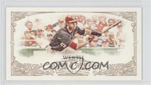 2012 Topps Allen & Ginter's - [Base] - Minis Red Allen & Ginter Baseball Back #302 - Jayson Werth /25