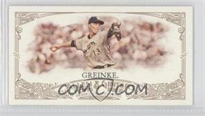 2012 Topps Allen & Ginter's - [Base] - Minis Red Allen & Ginter Baseball Back #343 - Zack Greinke /25