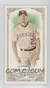 2012 Topps Allen & Ginter's - [Base] - Minis Rip Card High Numbers #396 - Troy Tulowitzki