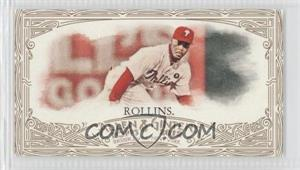 2012 Topps Allen & Ginter's - [Base] - Retail Minis Gold Border #40 - Jimmy Rollins