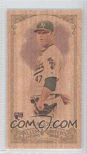 2012 Topps Allen & Ginter's - [Base] - Wood Minis #39 - Brad Peacock /1
