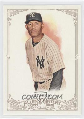 2012 Topps Allen & Ginter's - [Base] #120 - Mariano Rivera