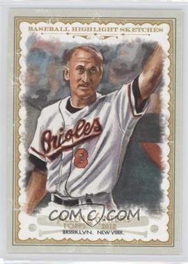 2012 Topps Allen & Ginter's - Baseball Highlight Sketches #BH-17 - Cal Ripken Jr.