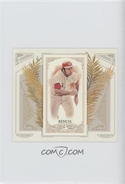 2012 Topps Allen & Ginter's - Box Loader N43 #N43-9 - Johnny Bench