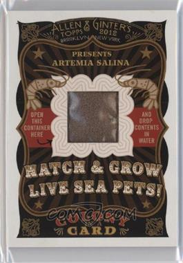 2012 Topps Allen & Ginter's - Colony in a Card #NoN - Artemia Salina