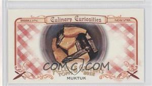2012 Topps Allen & Ginter's - Culinary Curiosities Minis #CC10 - Muktuk