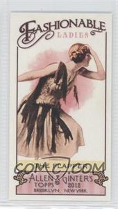 2012 Topps Allen & Ginter's - Fashionable Ladies Minis #FL-2 - The Flapper