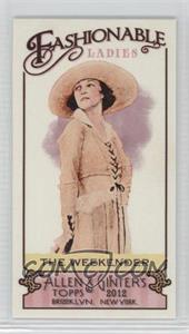 2012 Topps Allen & Ginter's - Fashionable Ladies Minis #FL-6 - The Weekender
