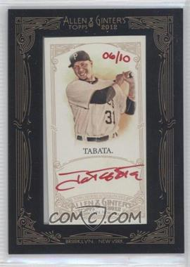 2012 Topps Allen & Ginter's - Framed Mini Autographs - Red Ink [Autographed] #AGA-JT - Jose Tabata /10