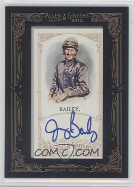 2012 Topps Allen & Ginter's - Framed Mini Autographs #AGA-JBA - Jerry Bailey
