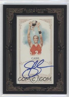 2012 Topps Allen & Ginter's - Framed Mini Autographs #AGA-SCA - Swin Cash