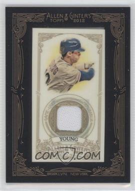 2012 Topps Allen & Ginter's - Framed Mini Relics #AGR-MY - Michael Young