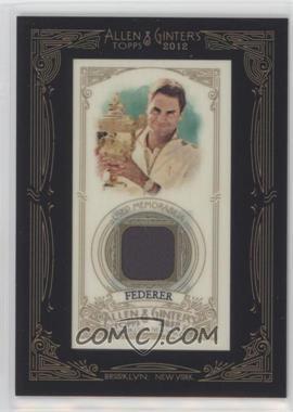 2012 Topps Allen & Ginter's - Framed Mini Relics #AGR-RF - Roger Federer