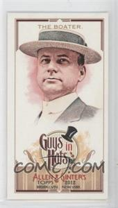 2012 Topps Allen & Ginter's - Guys in Hats Minis #GH-2 - The Boater