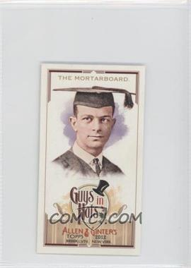 2012 Topps Allen & Ginter's - Guys in Hats Minis #GH-7 - The Mortarboard