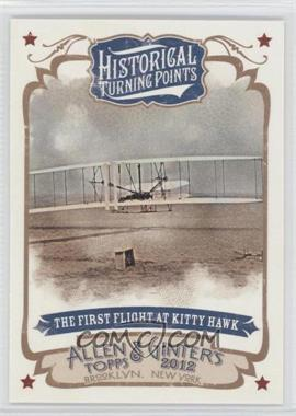 2012 Topps Allen & Ginter's - Historical Turning Points #HTP15 - The First Flight of Kitty Hawk
