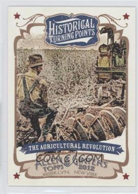 2012 Topps Allen & Ginter's - Historical Turning Points #HTP20 - The Agricultural Revolution
