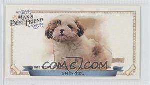 2012 Topps Allen & Ginter's - Man's Best Friend Minis #MBF-12 - Shih Tzu