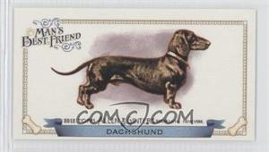 2012 Topps Allen & Ginter's - Man's Best Friend Minis #MBF-6 - Dachshund