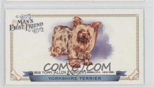 2012 Topps Allen & Ginter's - Man's Best Friend Minis #MBF-7 - Yorkshire Terrier