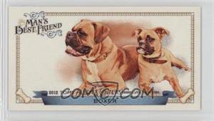 2012 Topps Allen & Ginter's - Man's Best Friend Minis #MBF-9 - Boxer