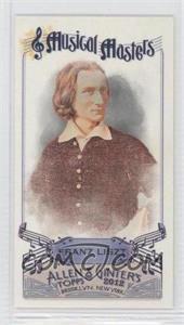 2012 Topps Allen & Ginter's - Musical Masters Minis #MM-12 - Franz Liszt