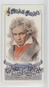 2012 Topps Allen & Ginter's - Musical Masters Minis #MM-3 - Ludwig Van Beethoven