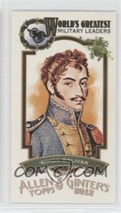 2012 Topps Allen & Ginter's - World's Greatest Military Leaders Minis #ML-2 - Simon Bolivar