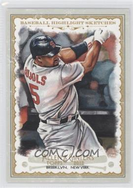 2012 Topps Allen & Ginter's Baseball Highlight Sketches #BH-10 - Albert Pujols