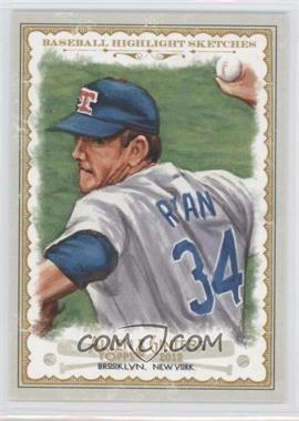 2012 Topps Allen & Ginter's Baseball Highlight Sketches #BH-11 - Nolan Ryan