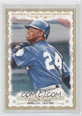 2012 Topps Allen & Ginter's Baseball Highlight Sketches #BH-15 - Ken Griffey Jr.