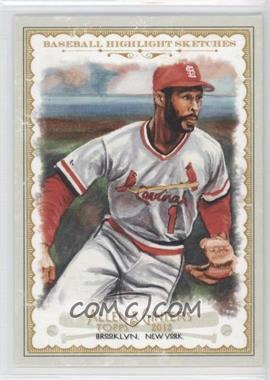 2012 Topps Allen & Ginter's Baseball Highlight Sketches #BH-18 - Ozzie Smith