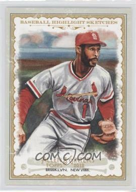 2012 Topps Allen & Ginter's Baseball Highlight Sketches #BH-18 - Ozzie Smith