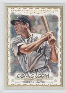 2012 Topps Allen & Ginter's Baseball Highlight Sketches #BH-22 - Joe DiMaggio