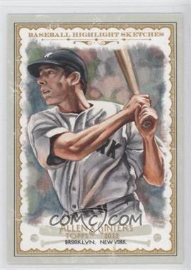 2012 Topps Allen & Ginter's Baseball Highlight Sketches #BH-22 - Joe DiMaggio