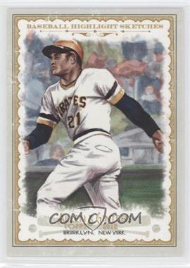 2012 Topps Allen & Ginter's Baseball Highlight Sketches #BH-24 - Roberto Clemente