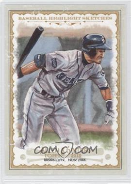 2012 Topps Allen & Ginter's Baseball Highlight Sketches #BH-3 - Ichiro Suzuki
