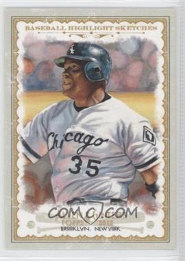 2012 Topps Allen & Ginter's Baseball Highlight Sketches #BH-6 - Frank Thomas