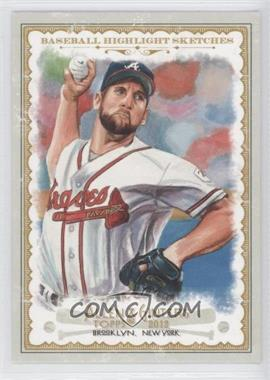 2012 Topps Allen & Ginter's Baseball Highlight Sketches #BH-7 - John Smoltz